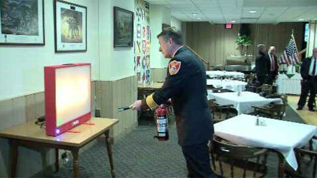 Connecticut is stepping up its fire safety training with some state-of-the-art technology. (WFSB)