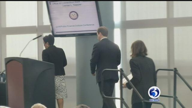 Mayors of Connecticut's three largest cities discussed their budgets. (WFSB)