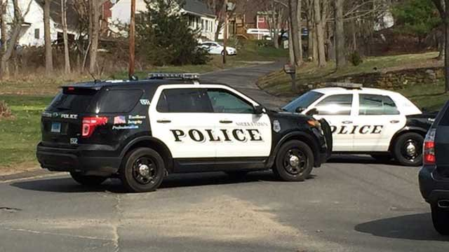 LIFE STAR responded to Chamberlain Road in Middletown on Thursday after a person was hit by a car. (WFSB)