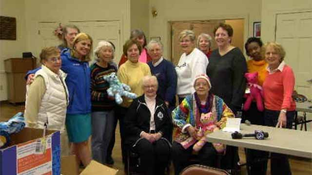 The Liberty Bank Channel 3 Surprize Squad helped a senior citizen in Portland createa special group to help those with cancer. (WFSB)