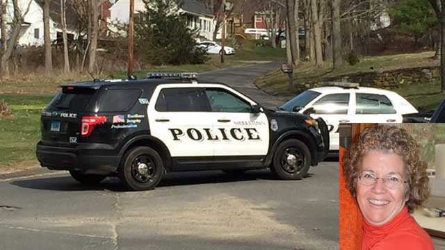 61-year-old Barbara Eddinger died after she was hit by a car while she was putting a letterin her mailbox. (WFSB/Facebook)