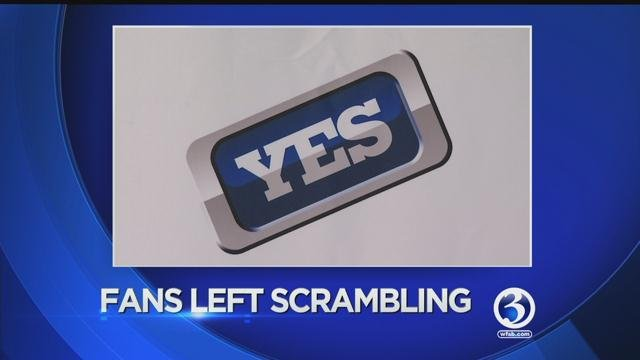 Comcast has taken the New York Yankees and the Yes channel off its air and that leaves some fans scrambling to find their team. (WFSB)