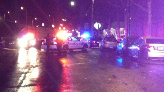 A man was shot inside the diner in New Haven. (WFSB)