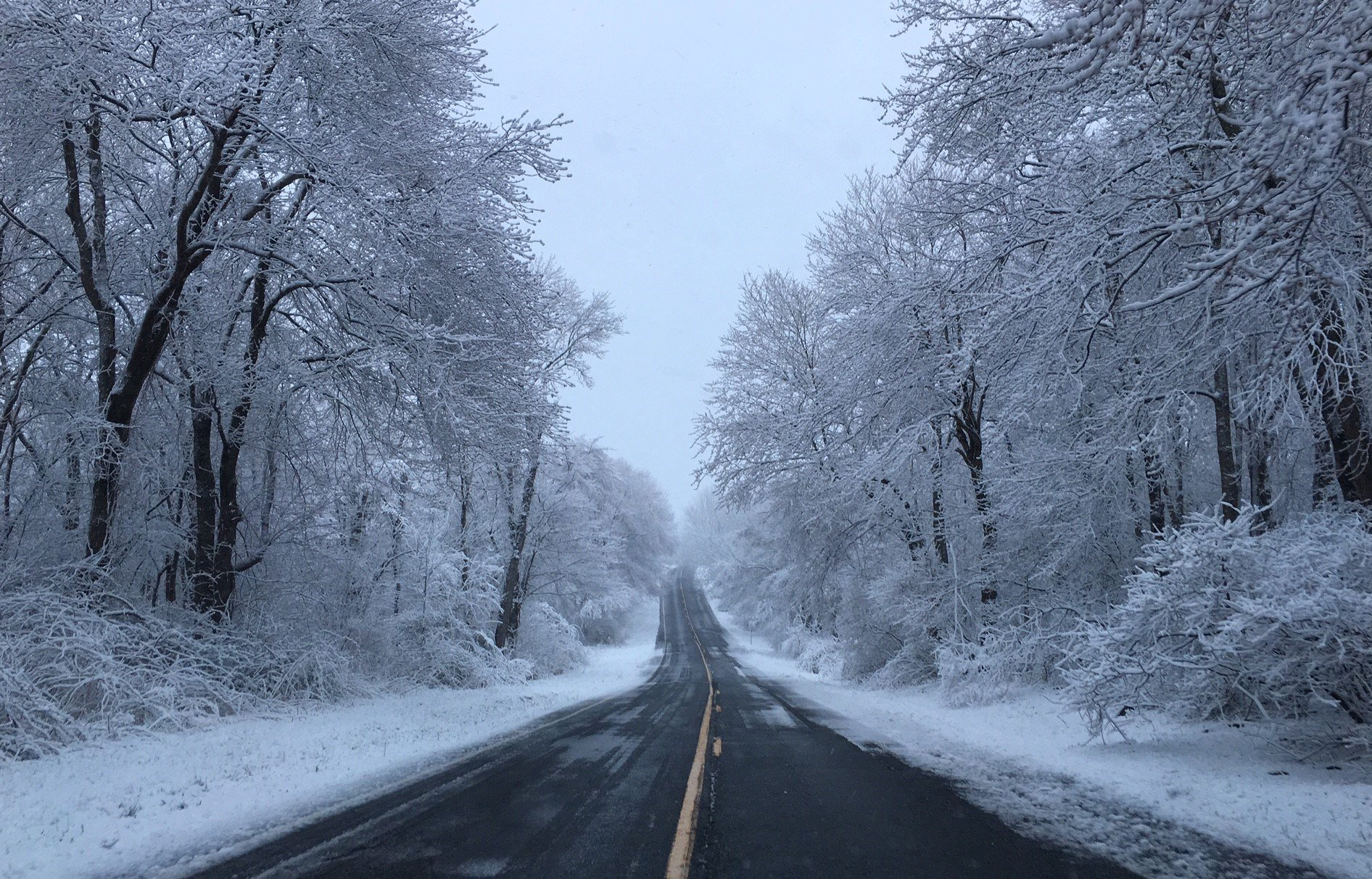 Route 67 in Roxbury at 7 a.m. (iwitness)