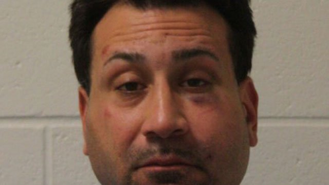 Louis Ortiz faces multiple charges after assaulting officers and police K9. (Branford Police Department)