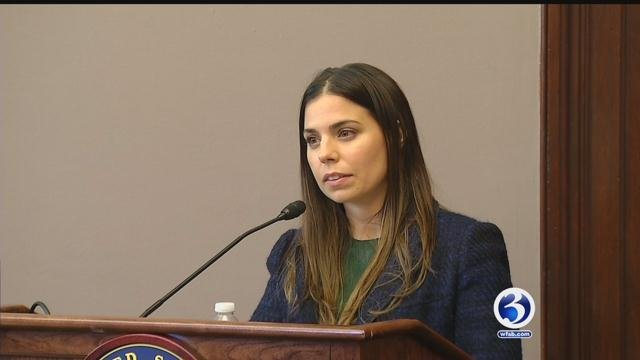 The daughter of fashion designer Tommy Hilfiger, Ally, talked about her struggles with Lyme Disease. (WFSB)