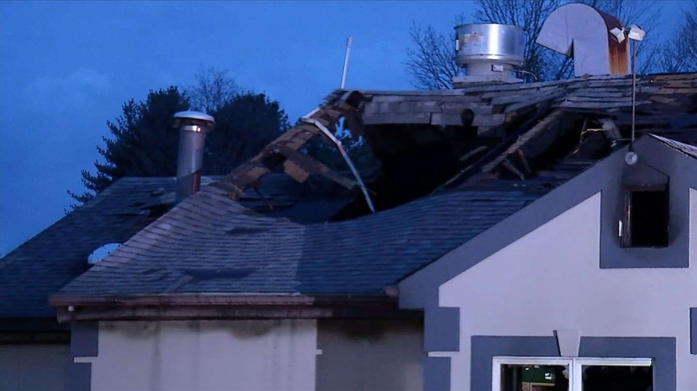 Southington pizza restaurant badly damaged after overnight