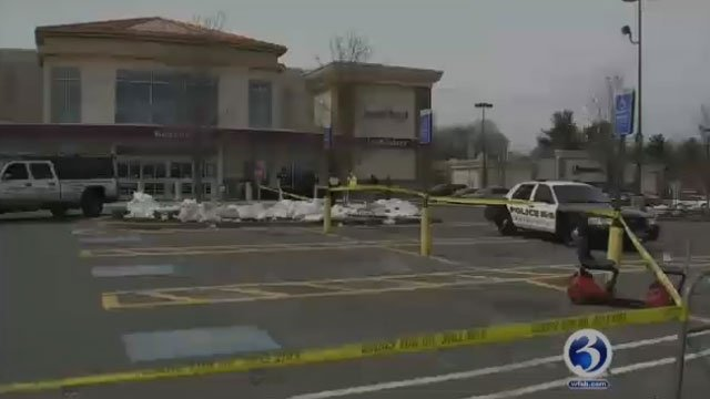 A 55-year-old woman died after being hit by a vehicle in Rocky Hill on Wednesday. (WFSB)