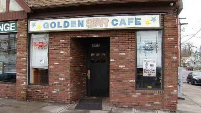 Two Bridgeport police officers were suspended after reportedly working security at a local bar recently. (WFSB)