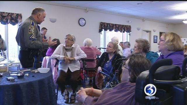 Mansfield state police trooper helps protect seniors from scams (WFSB)