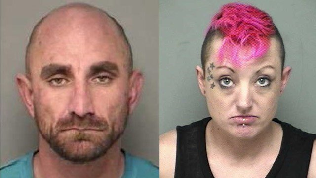 Wesley St. Pierre and Rhiannon Welch. (State police photos)