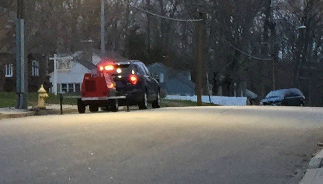 A motorcyclist was injured after his vehicle collided with a minivan in Willimantic. (WFSB)
