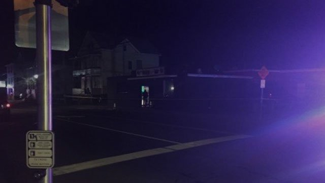 Police are investigating three people shot at the Noiise Sports Bar in Meriden. (WFSB)