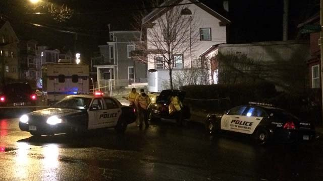 A man was shot and killed in Waterbury on Monday evening. (WFSB)