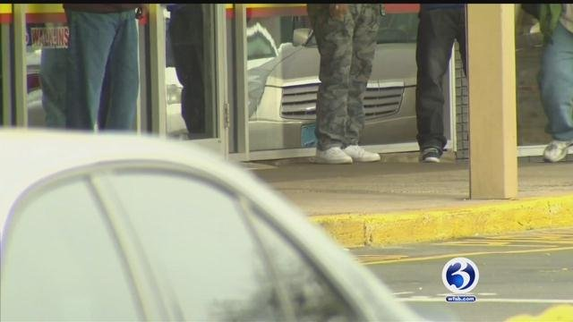 New Britain is looking at measures to cut down on aggressive panhandling. (WFSB)