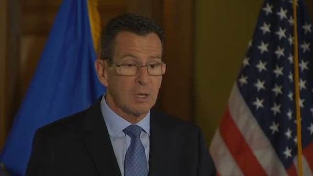 Gov. Dannel P. Malloy released his revised midterm budget adjustments for the fiscal year 2017 on Tuesday. (WFSB file)