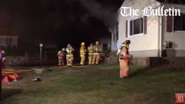 No injuries reported in Norwich house fire (Norwich Bulletin)