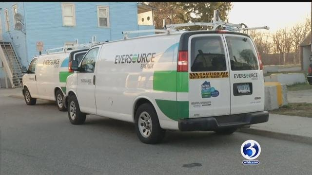 Eversource crews continue to restore gas service to people in Willimantic. (WFSB)