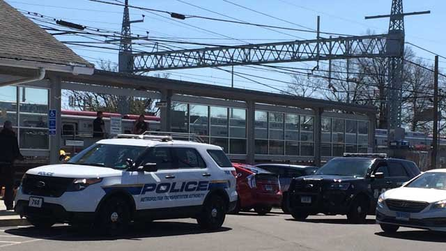 A person was hit by a train in Stratford on Friday. (WFSB)