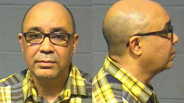 Eduardo Genao was arrested for sending inappropriate texts to a 13-year-old girl.  (Hartford Police Department)
