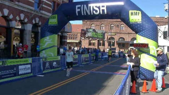The second annual CTfastrak 15K and relay was held in New Britain on Sunday morning. (WFSB)