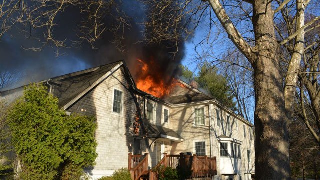 House fire was reported at 145 Mountain Laurel Rd. (Fairfield Fire Department)