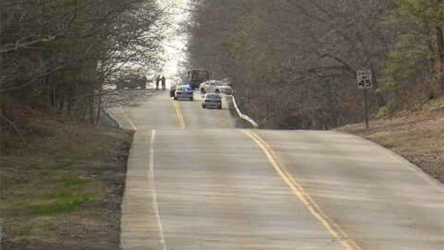 A motorcyclist from East Hampton was killed after a crash on Route 44 in Eastford. (WFSB)