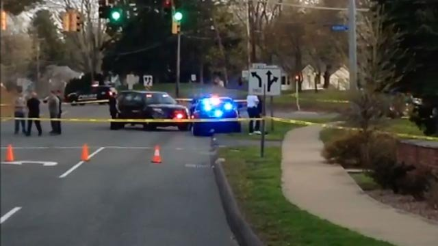 A police investigation was seen in Newington on Monday evening. (WFSB)