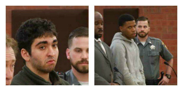 Two UHart students are accused of helping two other men in an attempted armed robbery. (WFSB)