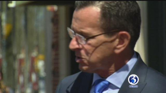 Gov. Dannel Malloy signs letter warning Congress on health care repeal.  (WFSB file)