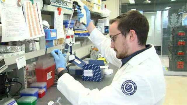 Students at UConn Health are working on a vaccine to prevent Ovarian Cancer. (WFSB)