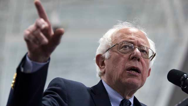 Bernie Sanders will be speaking in Connecticut on Sunday and Monday (AP Images)