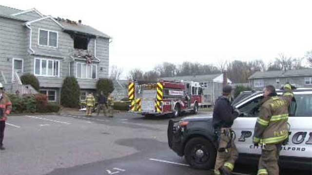 Police arrested 35-year-old Douglas MacDonald after an investigation into what sparked a fire at his home on South Wind Lane in December. (WFSB)