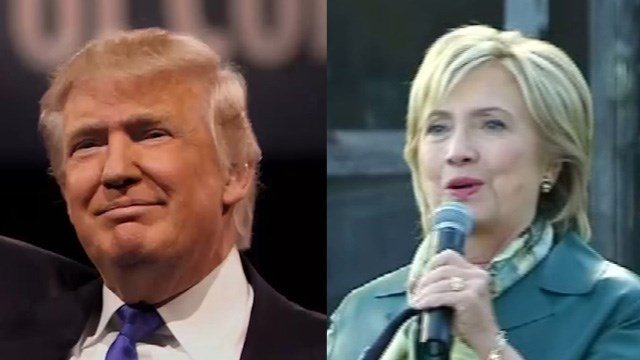 Republican Donald Trump and Democrat Hillary Clinton lead the polls for the presidential nominations, according to recent Quinnipiac poll. (WFSB File)