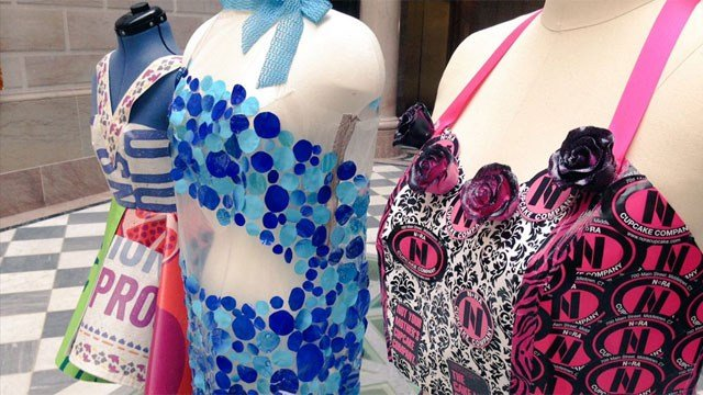 Eyewitness News got a sneak peak at the Trashion Fashion Show in Hartford. (WFSB)