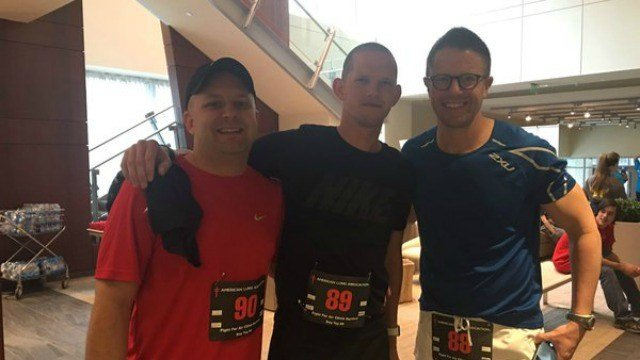 Channel 3 is partnering with the 9th annual Fight for Air climb.