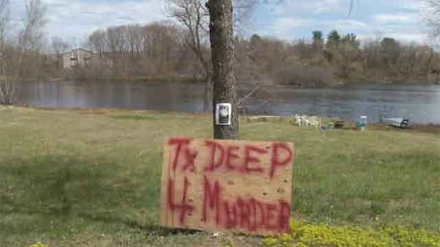 Neighbors started a petition after a male swan was killed in Danielson last week. (WFSB)