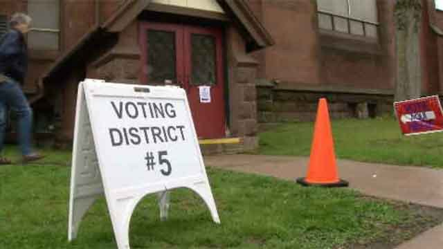 Voters across the state headed out to the polls on Tuesday for the primary election, but some ran into issues while casting their ballot. (WFSB)