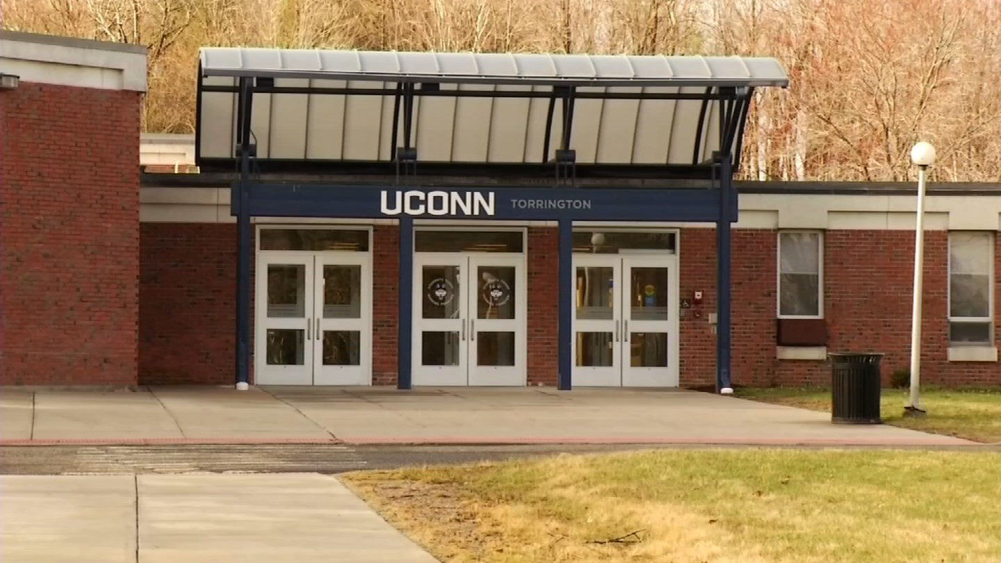 UConn's Board of Trustees may vote to close its Torrington campus. (WFSB file photo)