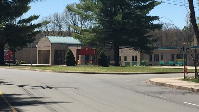 A lockdown was lifted at Thalberg Elementary School on Wednesday. (WFSB)