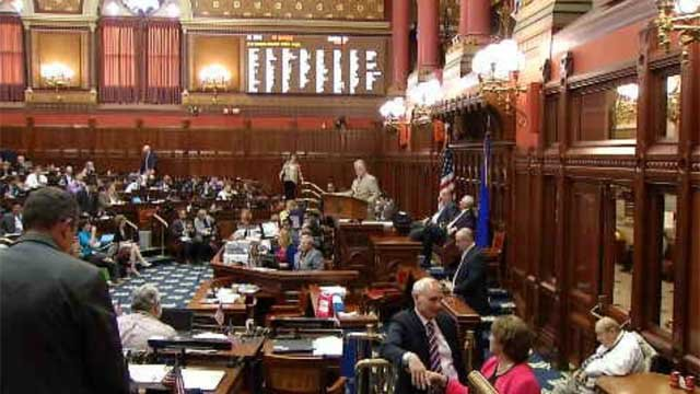 CT lawmakers spent Wednesday night debating a bill that supporters say would protect victims of domestic violence. (WFSB)