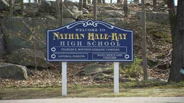 Some Nathan Hale-Ray High School students asked that graduation robes and gowns be the same color and not separated by gender. (WFSB)