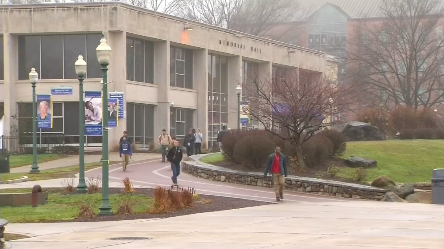 "The ""affirmed consent"" bill would make sexual assault prevention policies universal at all state colleges and universities, including Central Connecticut State University. (WFSB photo)"
