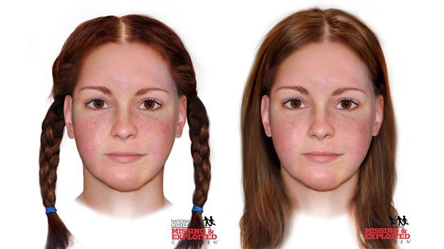 Facial reconstruction of the victim found in Ohio 35 years ago. (Miami County Sheriff's Office photo)