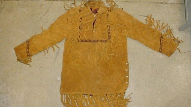 The jacket the victim was found wearing. (Miami County Sheriff's Office photo)