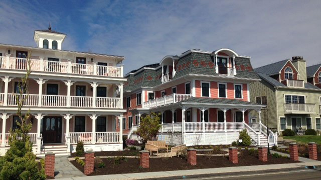 Tall Tales luxury guesthouse, which is located inside the Saybrook Point Inn & Spa, opened on Friday. (WFSB)