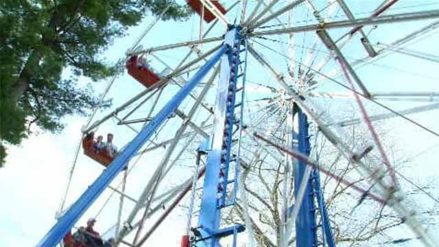 Even with rain expected on Sunday, the Daffodil Festival in Meriden will still go on. (WFSB)
