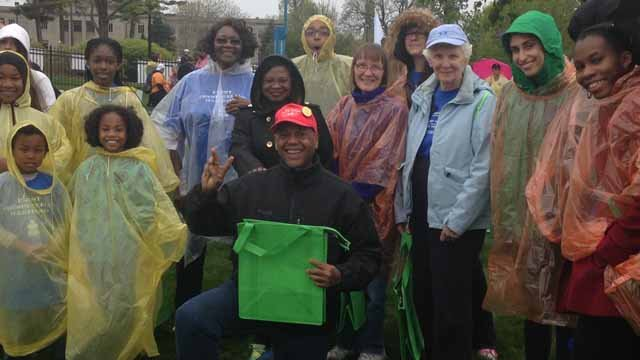Thousands of people came out to the Foodshare Walk Against Hunger on Sunday afternoon (WFSB)