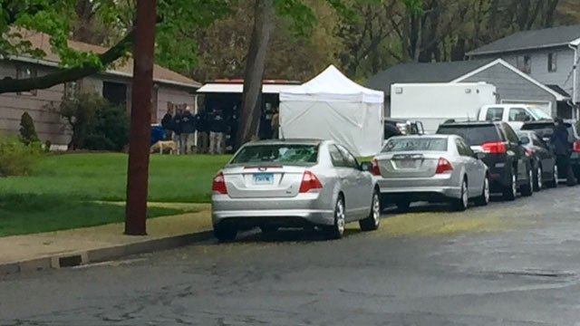 FBI agenst are searching the Manchester home of Robert Gentile. (Contributed photo)