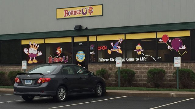 BounceU in Rocky Hill remains open while other locations closed this weekend. (WFSB)